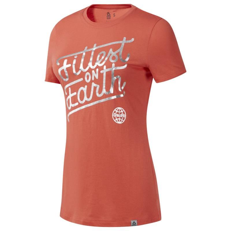 Dámské tričko Reebok CrossFit Fittest on Earth Tee - EC1474