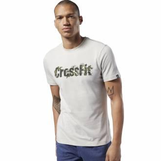 Pánské tričko Reebok CrossFit Camo Logo Tee - EC1479