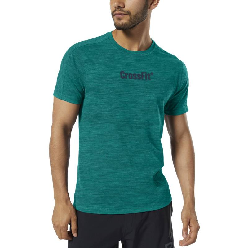 Pánské tričko Reebok CrossFit Marble Melange CrossFit Tee - EC1483