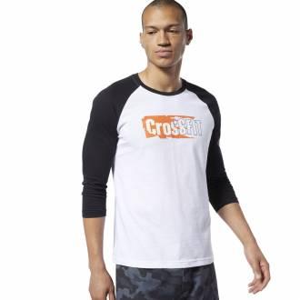 Pánské tričko Reebok CrossFit Sticker Rip Raglan - EC1488