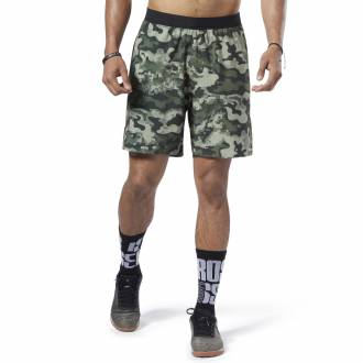 Pánské šortky Reebok CrossFit Speed Short - Print - EC1516