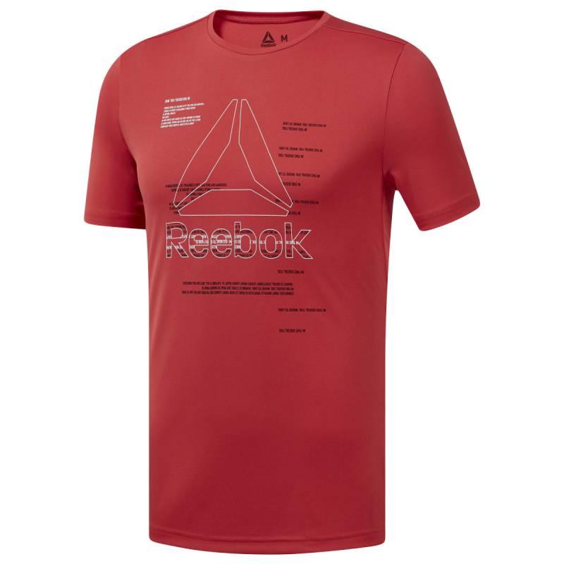 Pánské tričko WOR POLY GRAPHIC SS TEE - EJ6333