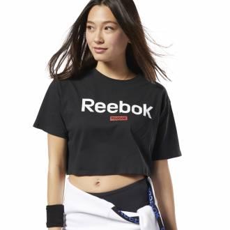 Dámské tričko Linear Logo Crop Tee - FI2032