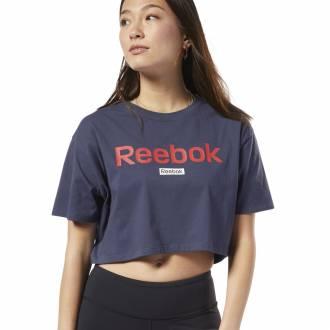 Dámské tričko Linear Logo Crop Tee - FI2033