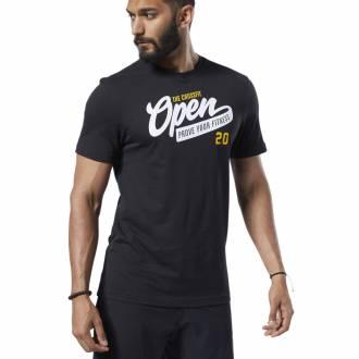 Pánské tričko Reebok CrossFit OPEN Tee - FP9336