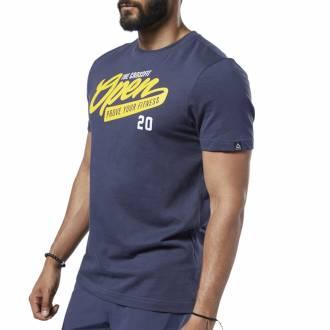 Pánské tričko Reebok CrossFit OPEN Tee - FP9337