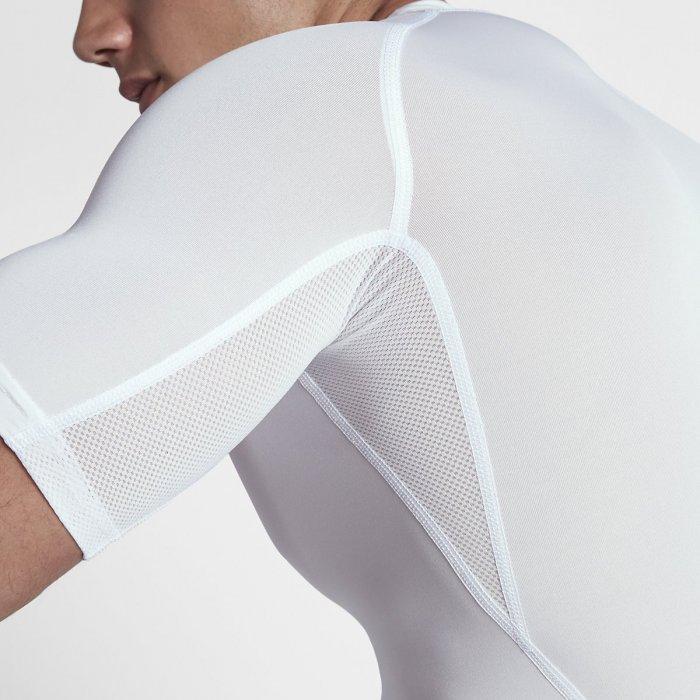Pánský tričko Nike s krátkým rukávem - Nike Pro - bílé