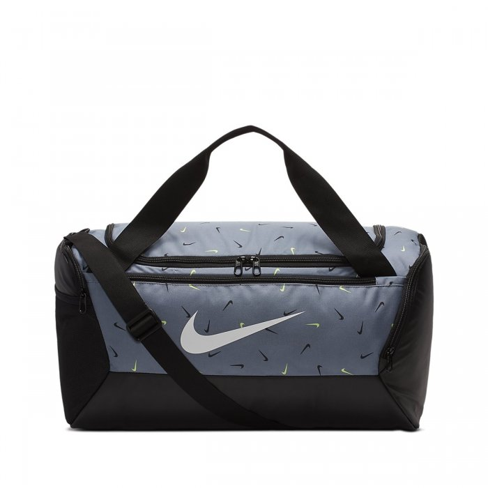 Tréninková taška Nike Brasilia Training Printed Duffel Bag (Small) Cool gray