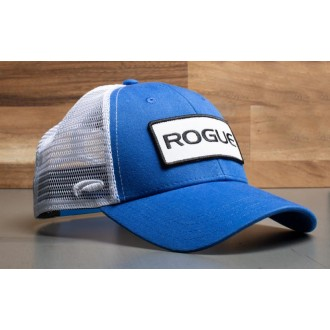 Kšiltovka Rogue Fitness Patch Trucker - modrá