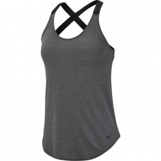 Dámský top Nike NK DRY TANK ELASTIKA šedý