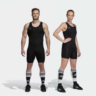 Vzpěračský / powerlifterský dres adidas black 2019