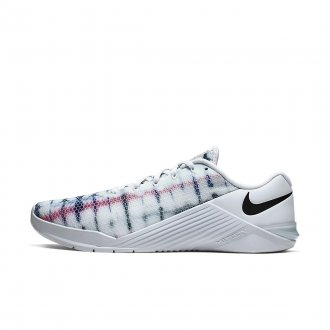 Boty Nike Metcon 5 - bílo / žíhané