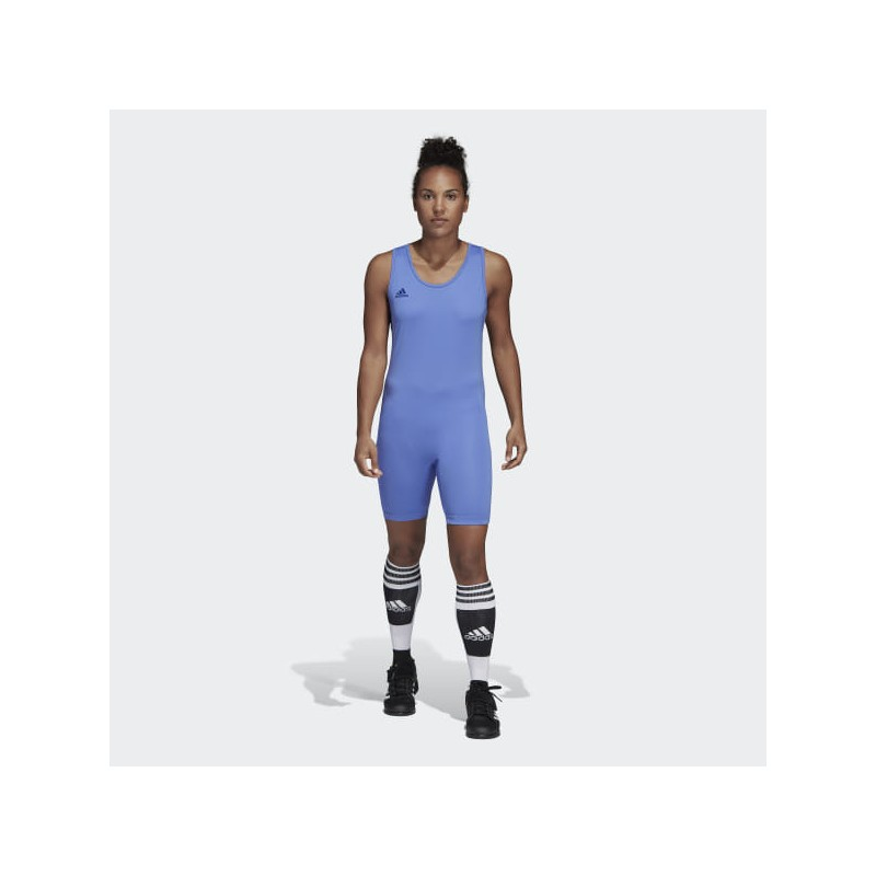 Vzpěračský / powerlifterský dres adidas blue 2019