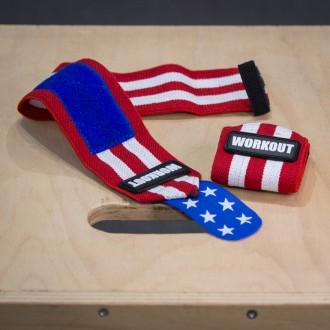 Bandáže zápěstí 48 cm WORKOUT - American