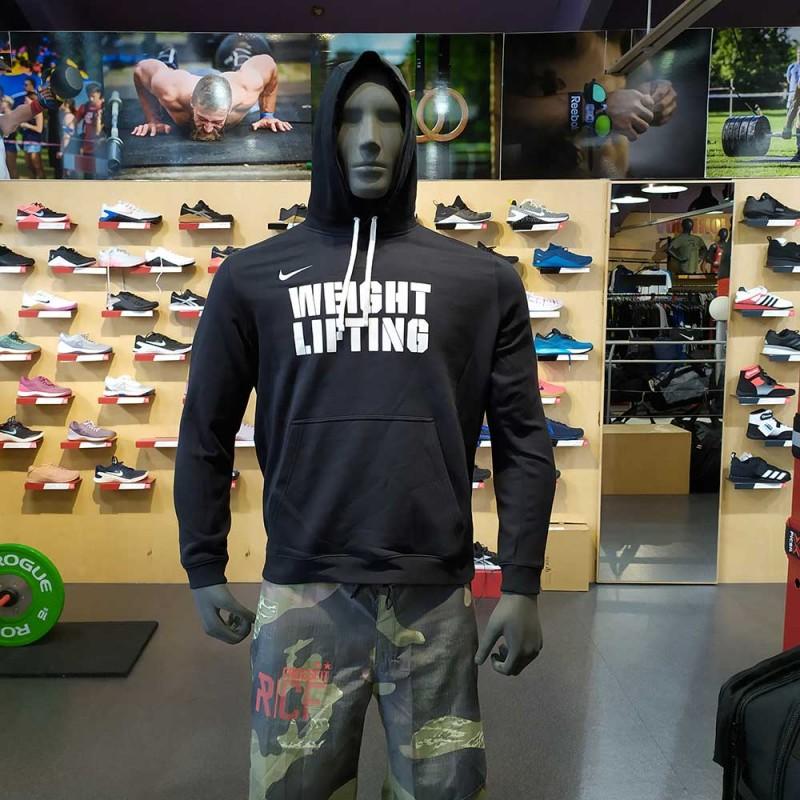 Pánská mikina Nike Weightlifting - black