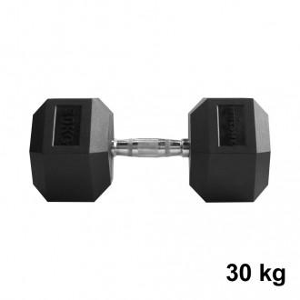 Jednoručky Hexhead Dumbbell Thornfit - 30 kg