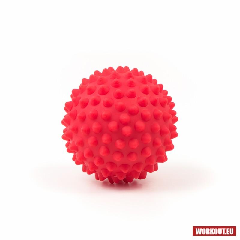Masážní míček Spike ball WORKOUT - červený
