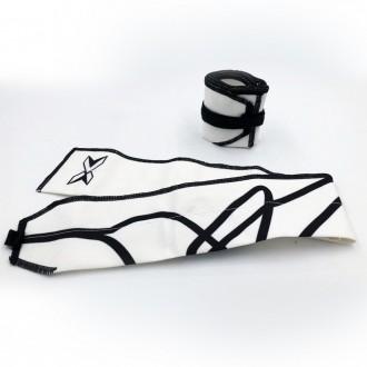 Zpevňovače zápěstí Picsil bavlna - bílé