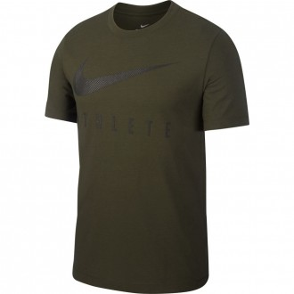Pánské tričko Athlete Dri-FIT Swoosh - tmavě zelené
