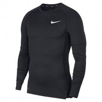 Pánské funkční tričko Long-Sleeve - černé