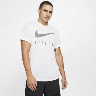 Pánské tričko Athlete Dri-FIT Swoosh - bílé