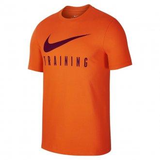 Pánské fitness tričko Nike TRAINING - oranžové