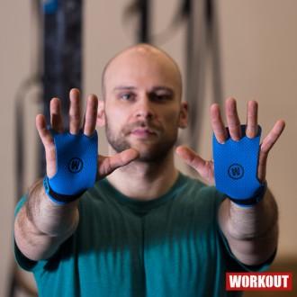 Mozolníky WORKOUT - 3 prstý - modrý
