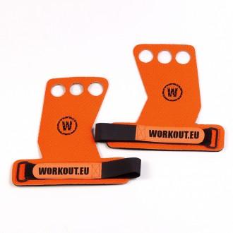 Mozolníky WORKOUT - 3 prstý - oranžový