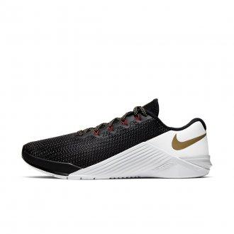 Dámské boty Nike Metcon 5 - černo/bílo/zlaté