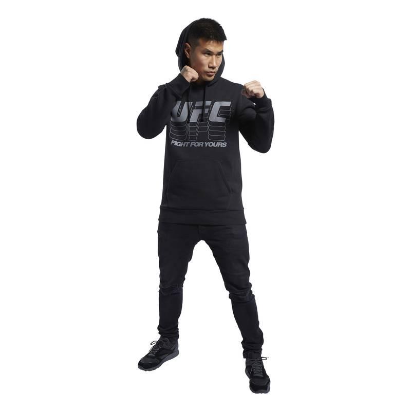 Pánská mikina UFC FG PULLOVER HOODIE - FJ5161