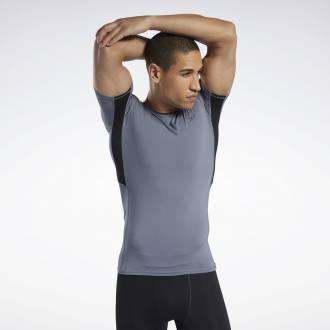 Pánské kompresní tričko Workout SS TEE - FP9119