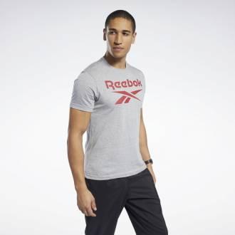 Pánské tričko GS Reebok Stacked Tee - FP9153