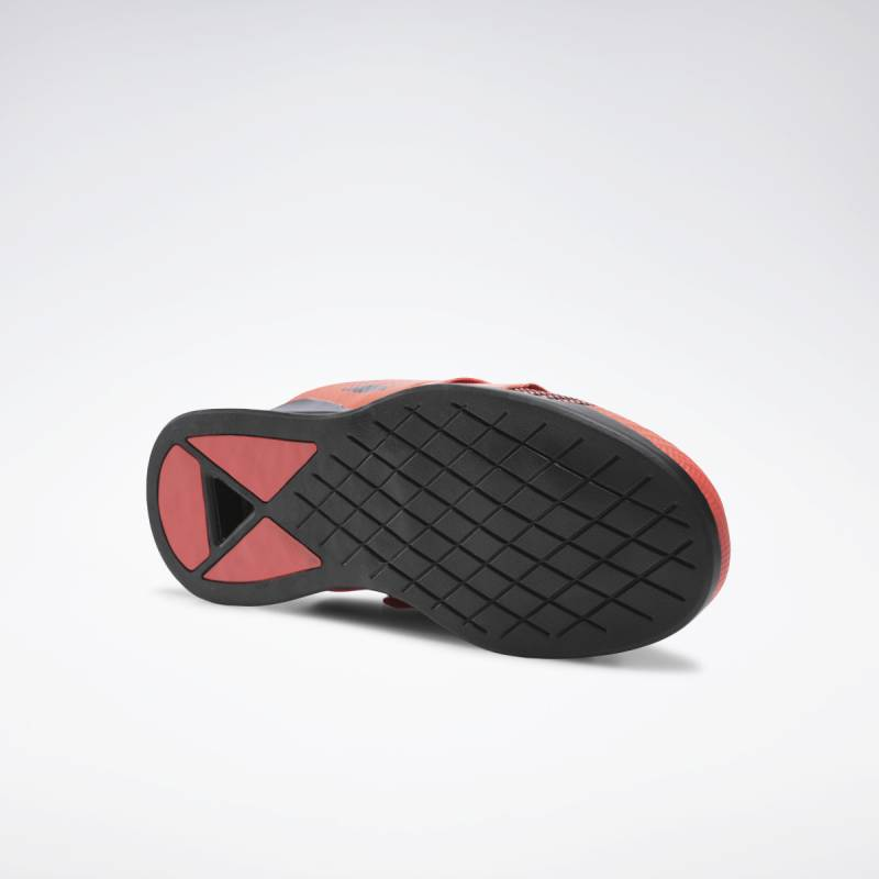 Pánské boty Reebok LEGACY LIFTER FW - FU7873 red/black