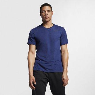 Pánské tréninkové tričko Nike Breathe blue-viod