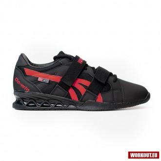 Vzpěračské boty WORKOUT - black/red
