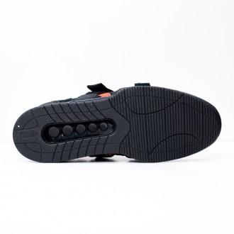 Pánské vzpěračské boty WORKOUT - black/red