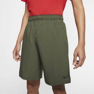 Pánské šortky M NK FLX SHORT WOVEN 2.0 - zelené