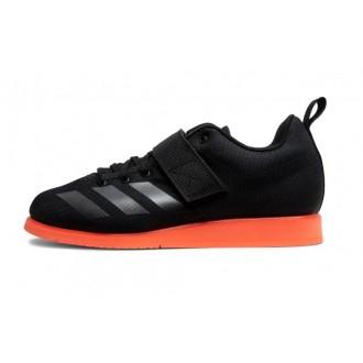 Dámské vzpěračské boty Powerlift 4 - černá/oranžová-modré