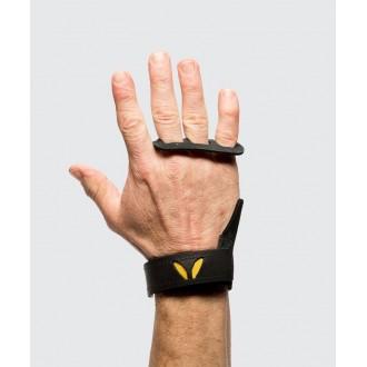 Pánské kožené mozolníky 3-prsté Victory Grips - black