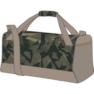 Medium Nike Brasilia 9.0 Printed Training Duffel Bag
