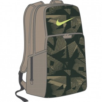 Nike Brasilia 9.0 Printed Training Backpack (Extra Large)