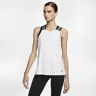 Dámský tréninový top Nike PRO White/black