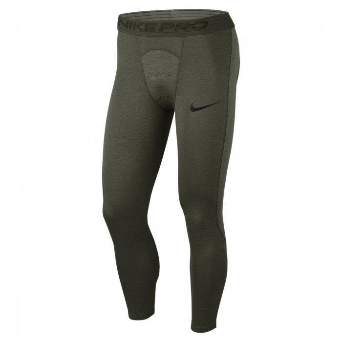 Pánské legíny Nike Pro Mens 3/4 Training green
