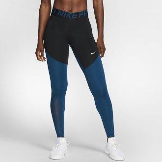 Dámské legíny Nike pro black/dark blue
