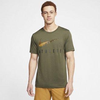 Pánské trénininkové tričko Nike ATHLETE graphic DK gray