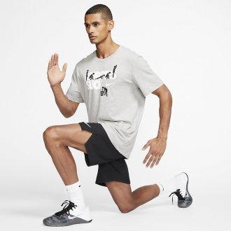 Pánské tričko Nike BURPEES SUCK - Dri-FIT - šedivé