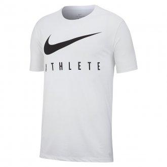Pánské tričko Nike Dri-FIT - Bílá