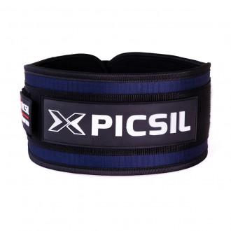 Vzpěračský opasek Picsil Strength Belt - modrý