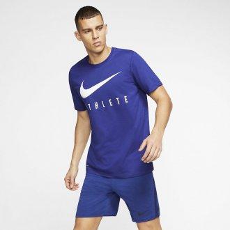 Pánské tričko Athlete Dri-FIT Swoosh - modré
