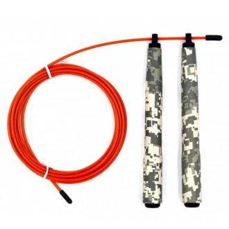 Rychlostní švihadlo Picsil Jump Rope ABS 2.0 Special Edition - Army
